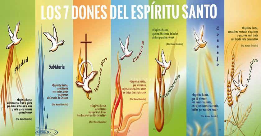los 7 dones del espiritu santo
