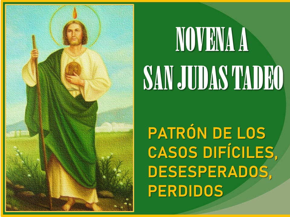 Modo de Rezar el Rosario para San Judas Tadeo