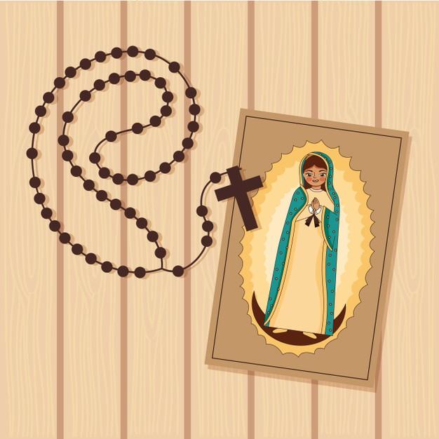 rosario a la Virgen de Guadalupe